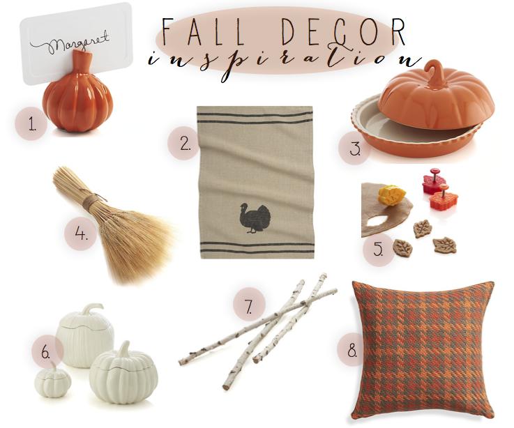 fall decor inspiration